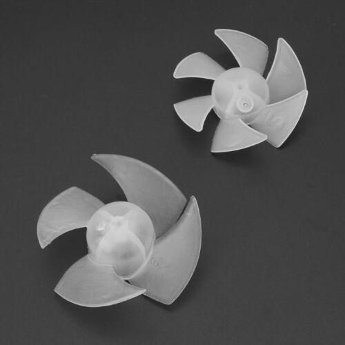 Small Power Plastic Mini Fan Blade 4//6 Leaves For Hairdryer Motor