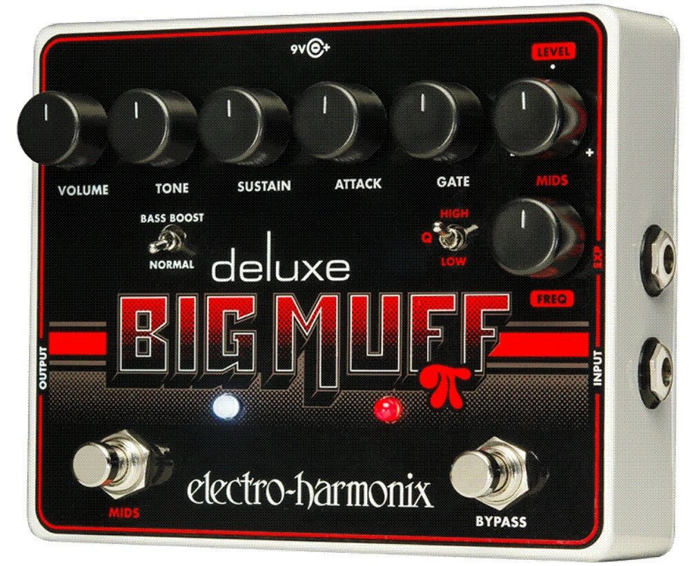 EHX EHX EHX Electro Harmonix Deluxe Big Muff Pi - Distortion Sustainer Guitar Pedal 4f4ad7