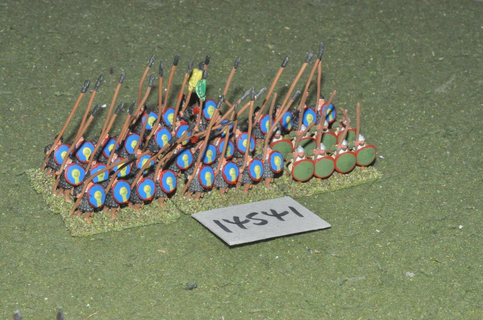 15mm dark ages   byzantine - spearmen 40 figs - inf (14541)