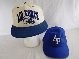 9570d5a8c25 Lot of 2 Air Force Falcons Baseball Cap Dad Hat Strapback Snapback ...