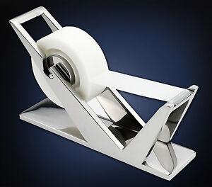 ArtsOnDesk-Modern-Art-Tape-Dispenser-Mr102-Stainless-Steel-Mirror-Polish