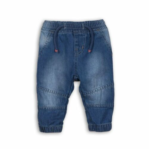 3-6 9-12 Months Old 6-9 Minoti Babaluno Blue Baby Boy Cotton Jeans 0-3