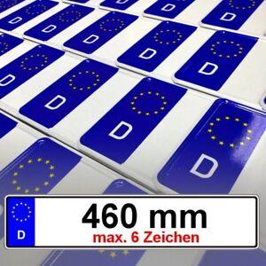 2 x EU Autoschilder