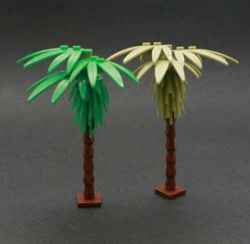 Brique rois Custom Paire De Noix De Coco arbres compatible avec LEGO NEUF