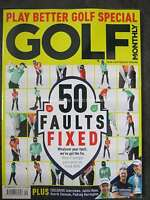 Golf Monthly September 2016 50 Faults Fixed Justin Rose Padraig Harrington
