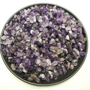 Amethyst-Ore-Crushed-Gravel-Stone-Chunk-Lots-Degaussing-DIY-improve-Improve