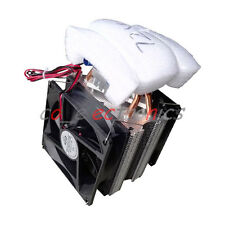 Thermoelectric Peltier Refrigeration DIY Water Cooling System Cooler Device 12V
