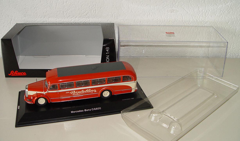 Schuco 450274900 MERCEDES BENZ O 6600 Voyage chérie 1 43 Nouveau neuf dans sa boîte