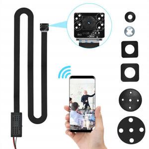 Mini Hidden Spy Camera Button WiFi 1080P HD DIY Wireless ...