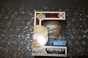 Funko Pop It Pennywise With Wig 474 Walmart Exclusive Ebay
