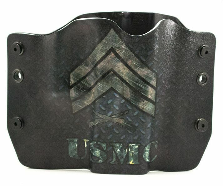SIG, USMC SGT, OWB Kydex Gun Holsters