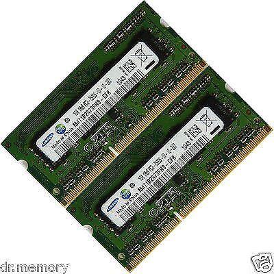 2x 2GB 4GB 8GB Lot Memory Ram 4 Toshiba Satellite Pro  L650-1CH  C650-EZ1533