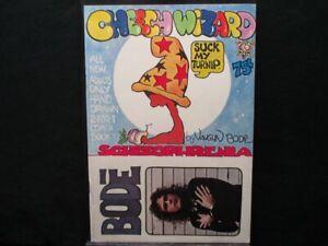 Cheech Wizard Schizophrenia 9.2 NM- 1st Print Underground Comic Vaughn Bode 1973