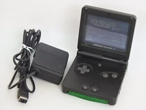 Game-Boy-Advance-Sp-AGS-001-Onyx-Noir-Console-AC-Adaptateur-Set-Nintendo-012-GBA
