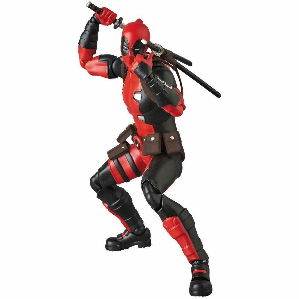 MAFEX Deadpool No.082 Gurihiru Arte Ver. figura De Acción Juguete Marvel Medicom