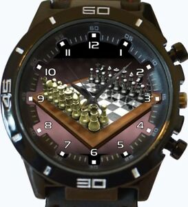 e5a8d08f10e1 La imagen se está cargando AJEDREZ-GAMER-NUEVO-SERIE-GT-deportivo-unisex -regalo-