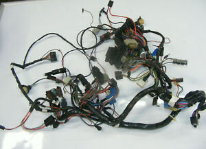 details about 86 88 jeep grand wagoneer complete dash wiring harness 2889  jeep grand wagoneer wiring harness #11