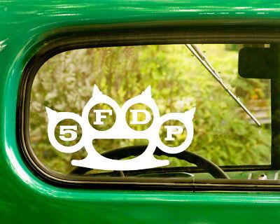 2 Five Finger Death Punch Decal autocollants pour voiture camion fenêtre pare-chocs Portable Jeep