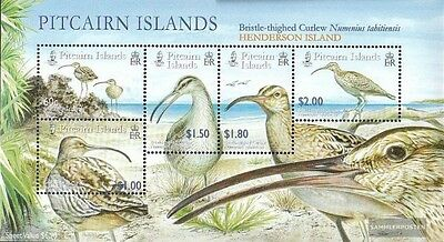 Australia & Oceania New Fashion Pitcairn Block41 Mint Never Hinged Mnh 2005 Borstenbrachvögel Animal Kingdom
