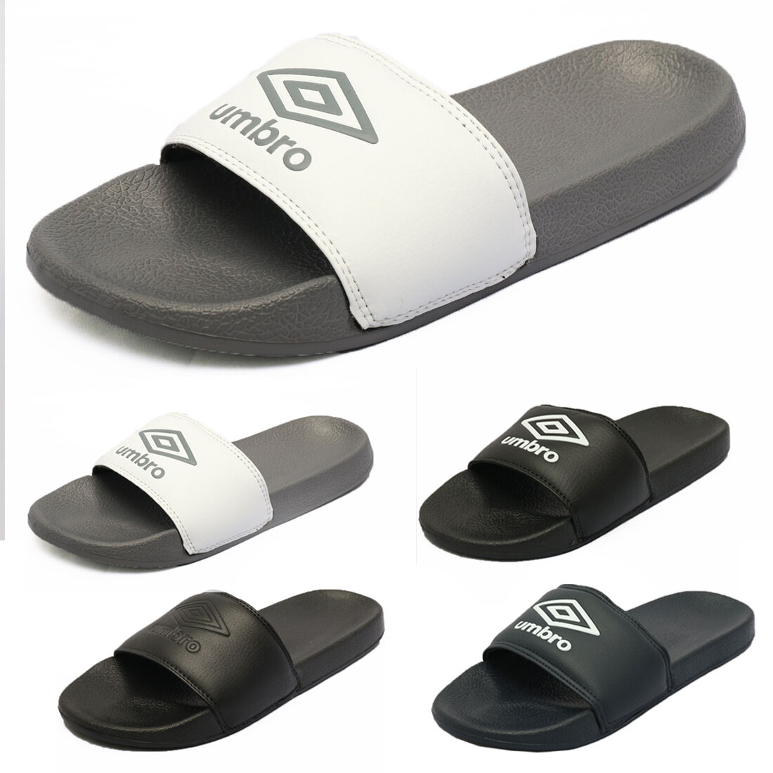 New Umbro Slippers Ums4000sd Majors 4 Colors Ebay