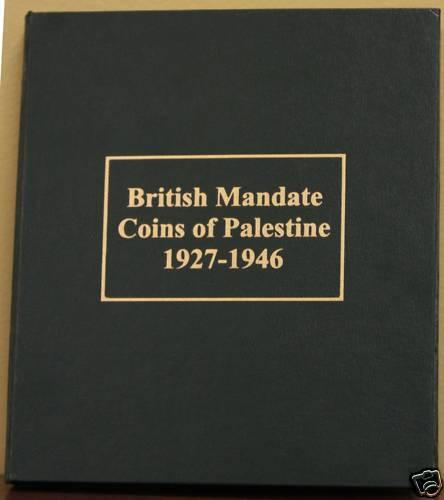 Palestine British Mandate  Coins Album NEW