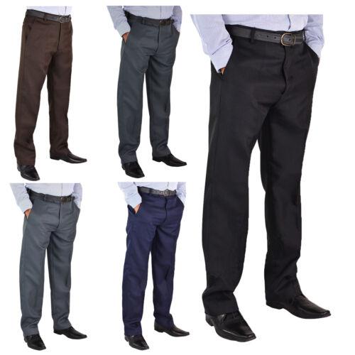 "Mens New Big Size Casual Formal Trousers Pants Waist 30-62 Leg Length 27/""29/"" 31/"""
