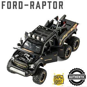 1:32 Ford Raptor Off Road Beast Truck Diecast Car Model Toy Sound & Light F-150