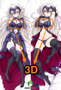 Fate Grand Order Jeanne D Arc Yc0678 3d Breast Anime