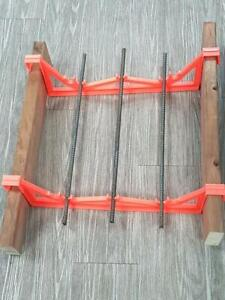 AccuFooting , an innovative new concrete footing brace!  ( 4 Sizes - 16, 18, 20 & 24 ) Alberta Preview