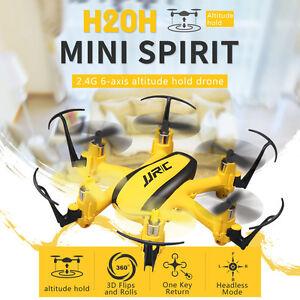 JJRC-H20H-Mini-Drone-2-4G-4CH-6-Axis-Gyro-RC-Quadcopter-RTF-modo-remoto-sin-cabeza