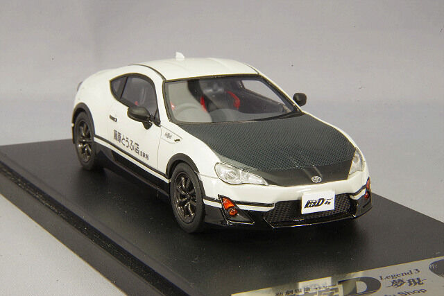 1 43 Hi-Story Modellers Toyota 86 meets New Theatrical Version Initial D MD43224