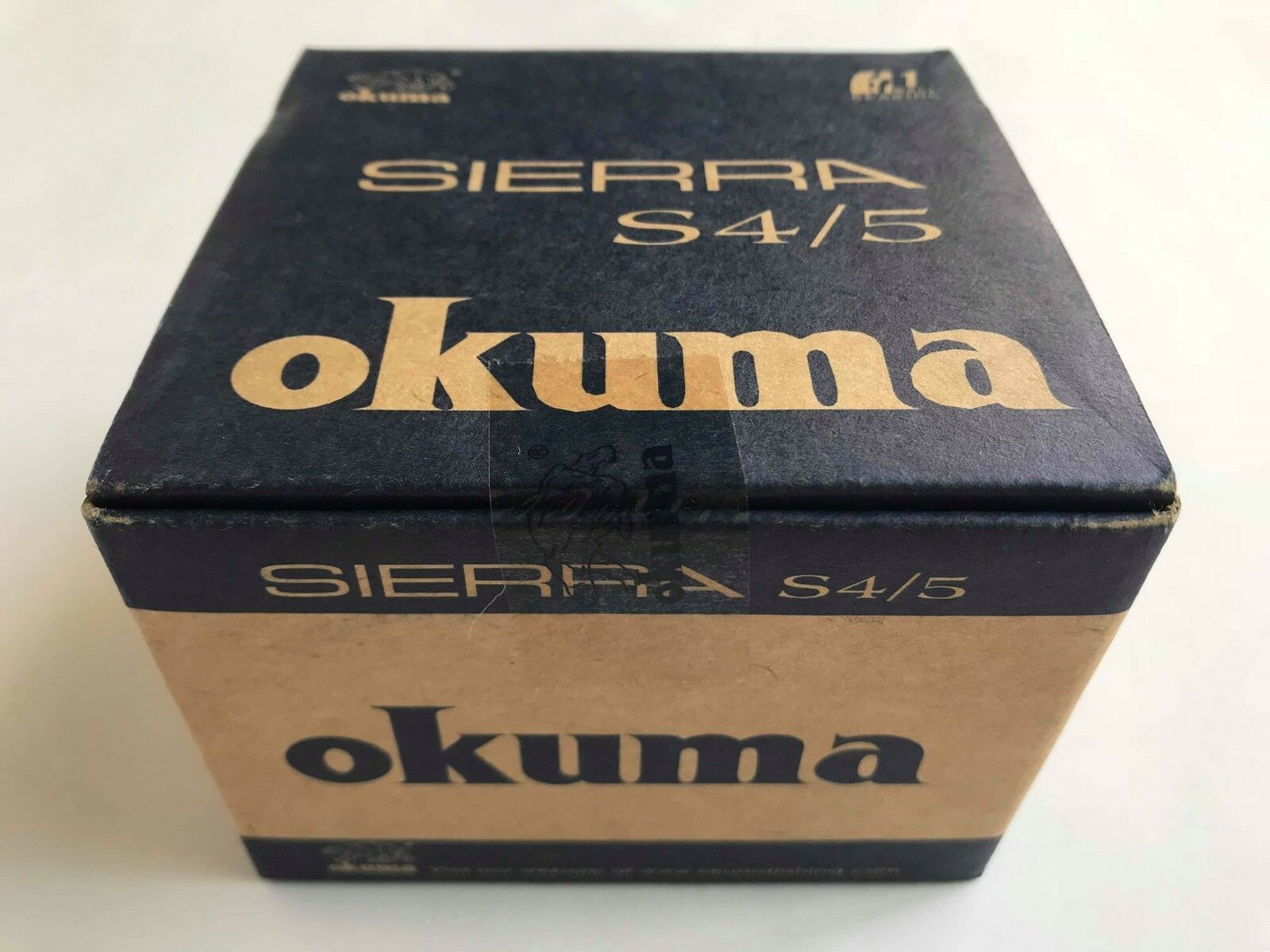 Okuma Sierra fishing Reel S4 5 fish 1 Ball  Bearing Stainless Steel Fly line 4.5  very popular