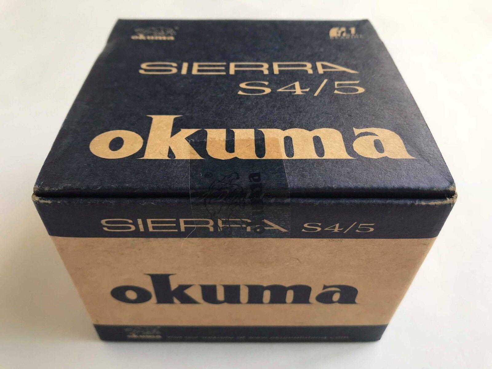 Okuma Sierra fishing Reel S45 fish 1 Btutti orsoing Stainless Steel Fly line 4.5