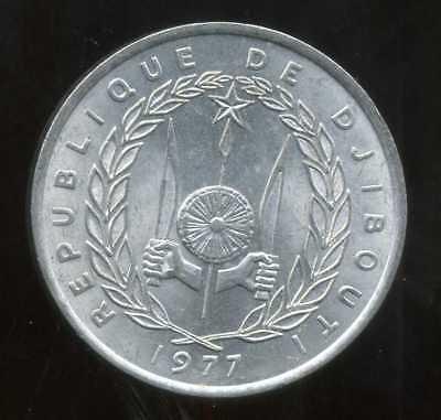 Dapper Djibouti 5 Francs 1977 ( Spl ) ( Bis ) Jade Wit