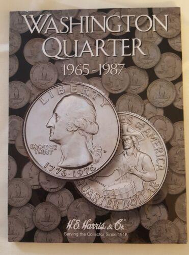 Washington Quarters 1965 to 1987 Set Harris Album 2690 Coin Folder