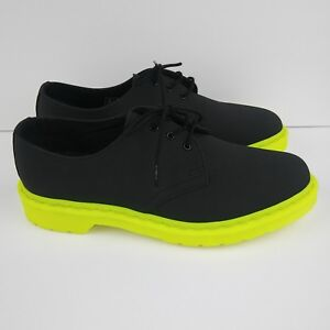 buy popular 87e82 3ac64 Image is loading DR-MARTENS-1461-3-Eye-Oxford-Shoes-Black-