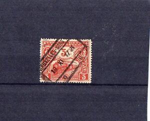 Belgien-3-Fr-Briefmarke-1920-Gestempelt