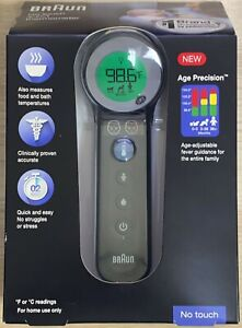 Braun 3-in-1 No Touch Thermometer BNT400 NEW & SEALED (H5)