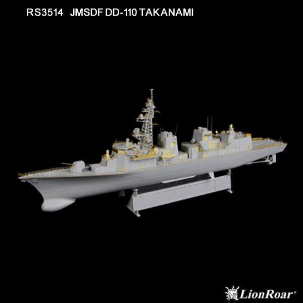 LionRoar Photo-etched details 1 350 JMSDF DD-110 TAKANAMI