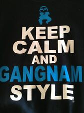 Keep Calm and Gangnam Style PSY Black Sweater Size Small