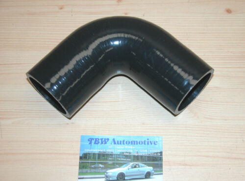 arco aire de tubos de silicona arco 60 mm 90 ° de silicona manguera 60mm negro nuevo