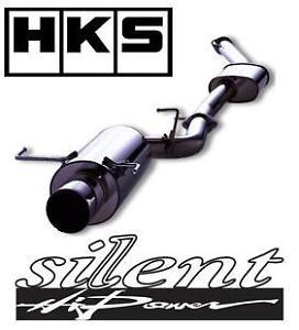 hks silent hi power exhaust system fits subaru impreza. Black Bedroom Furniture Sets. Home Design Ideas