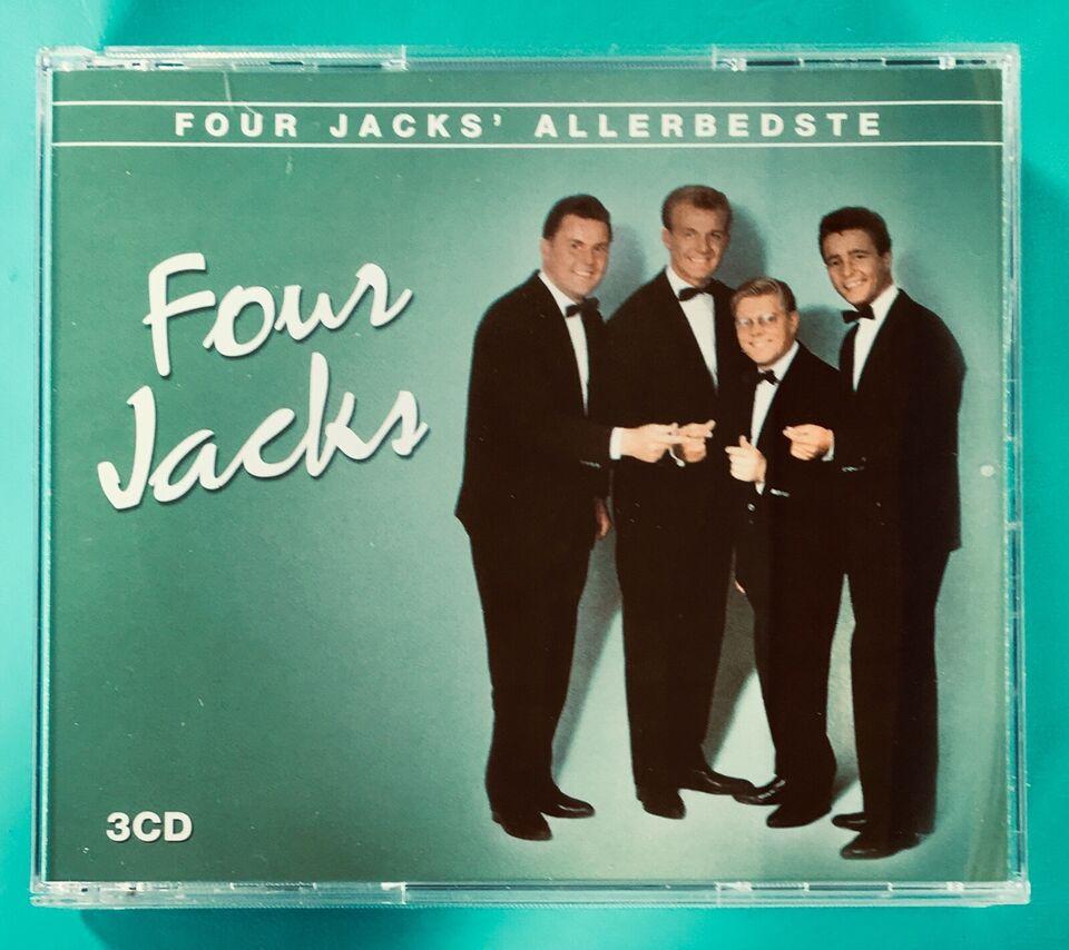 Four Jacks (3CD): Four Jacks allerbedste, pop