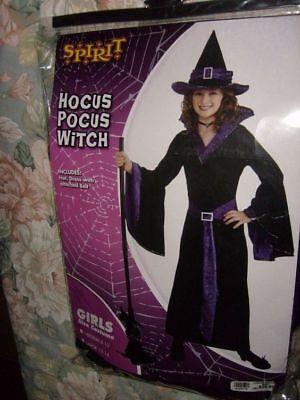 Hocus Pocus Witch Girls Child Costume