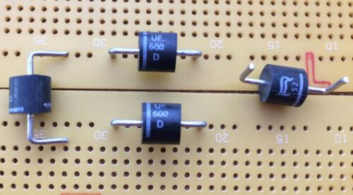 6A 200V Ultra Fast Recovery Diode UF600D Rectifier 75ns P600 Multi Qty