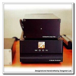 Details about Upgrade Audiophile Linear Power Supply for Moon 110LP Phono  Preamp 18V DC CAS