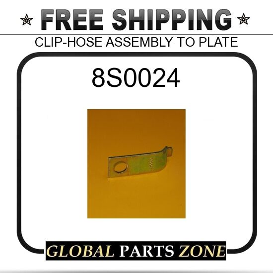 8S0024 - Clip-hose Assembly to Plate for Caterpillar (cat) | eBay