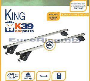 BARRE-K39-KING-112CM-CORRIMANO-BASSO-FIAT-Tipo-Station-Wagon-16-gt