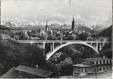 Alte Postkarte - Bern - Neue Brücke