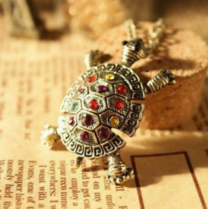 Women-Crystal-Tortoise-Sea-Turtle-Pendant-Necklace-Sweater-Chain-Jewelry